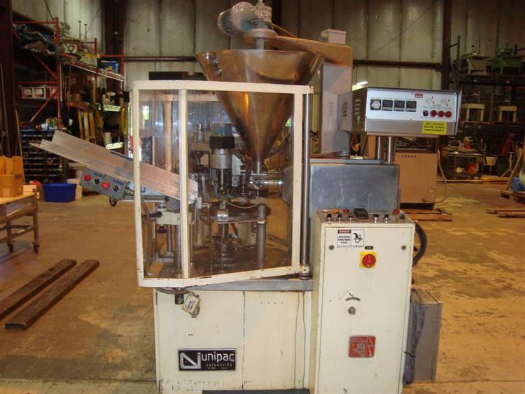 Unipac Comet Matic , tube filler Mach