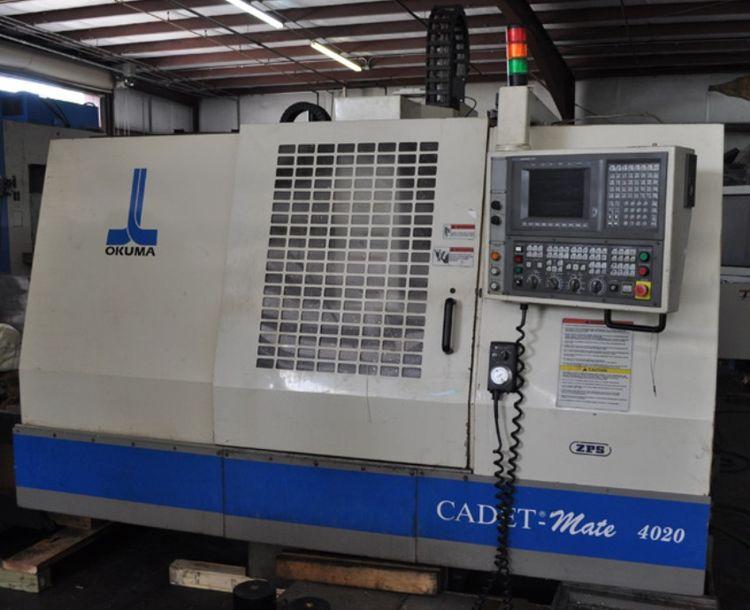 Okuma CADET MATE 4020 VMC, CNC Vertical Machining Center 3 Axis