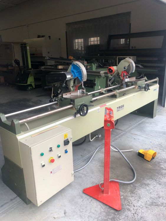 Omga TR 2A, Twin Blade Mitre Saw