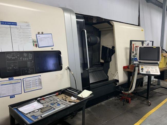 DMG CNC Control 4000 RPM DMG MORI CTX GAMMA 1250 TC LINEAR 2 Axis