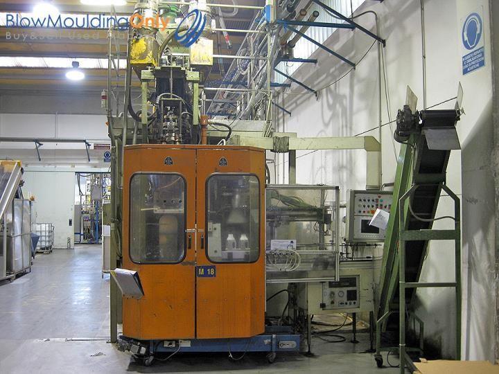 B&W, Uniloy BW 3000 E COEX3, Blow Molding Machine