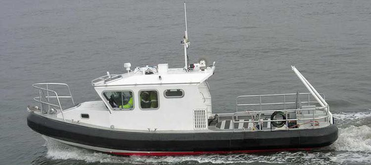 Aluminum Single Screw Work Boat
