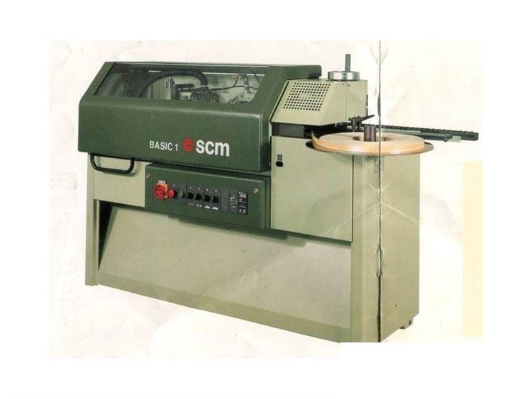 SCM BASIC 1, Automatic edge bander