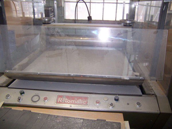 Ampak ROTOMATIC RB-3340, Die cutter