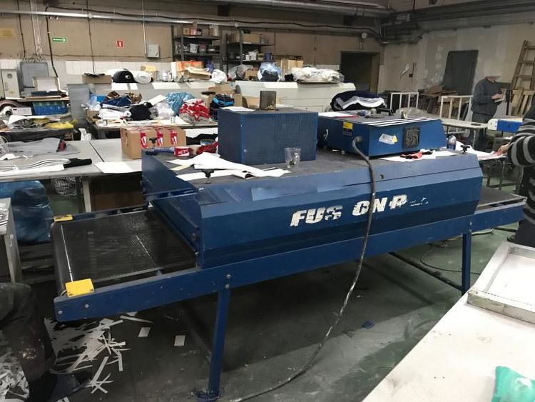 M & R Fusion Dryer tunnel