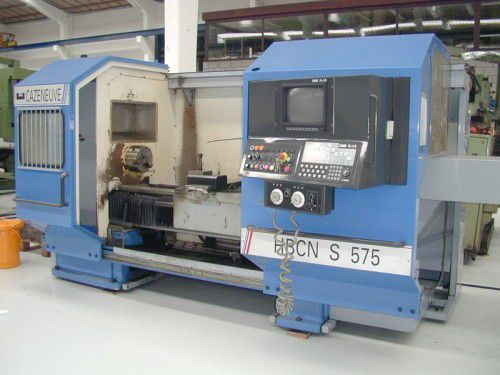 Cazeneuve SOMAB PL+S3 220 rpm HBCN S575 2 Axis