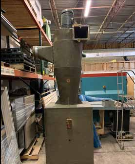 Torit Dust Collector w/ Barry Blower & Nordfab 36-Bag System