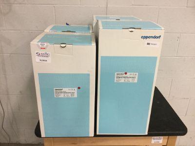 4 Eppendorf BioBLU Macrosparge  Single Use Bioreactors