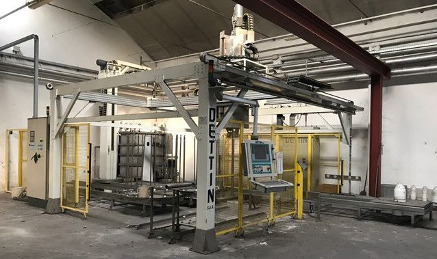 Dettin Bobbins centrifugation automation