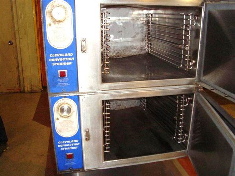 Cleveland Double Stack Convection Steamer