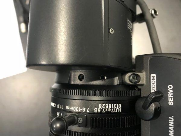 Canon HJ17X7.6BIRSE lens