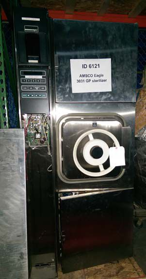Amsco Eagle 3031 GP, Sterilizer