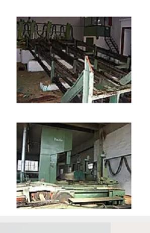 Primultini 1600 SIB CGA Hydraulich sawmill