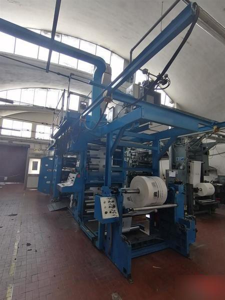 Uteco GOLD 608 RR, Flexo stack printing machine 6 1050 mm