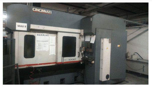 Cincinnati HPC  -  500  XT  –  MAX  9 4