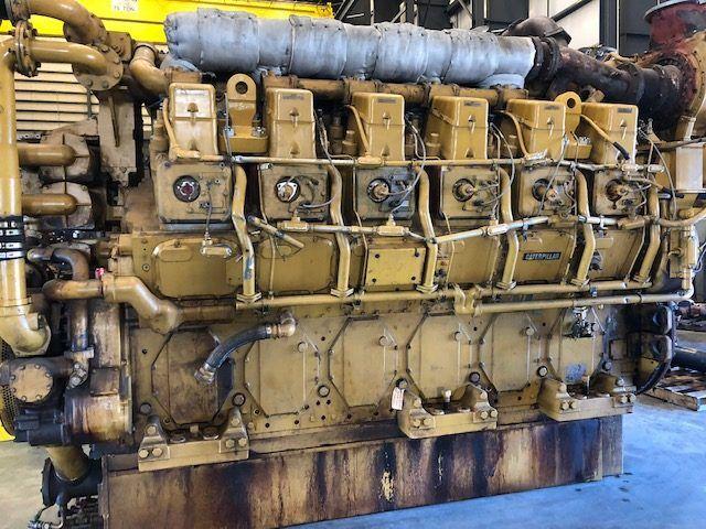 Caterpillar G3612 Engine HP: 3860 Diesel Marine Engine