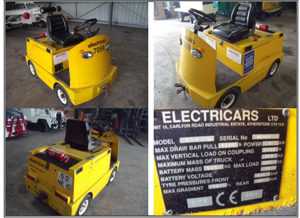 Electricars Ltd ET7, Electric Tug