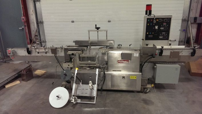 Accraply 4000 , Wrap Labeler