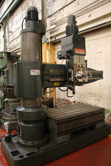 Kitchen and Wade E33 radial drill 1000 rpm