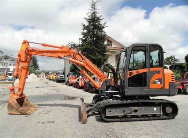 Doosan DX 75 Compact Excavator