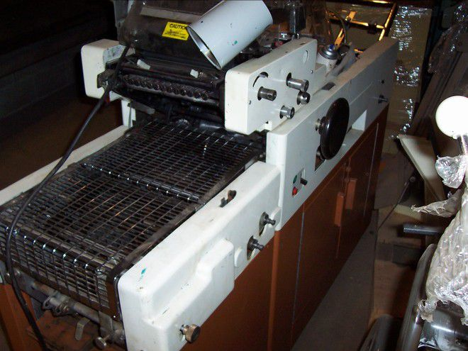 """Multilith 1250 N, 1 color Offset machine 11"""" X 17"""""""