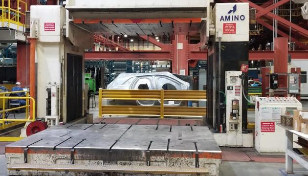 Amino Turnover Hydraulic Press 200 Ton
