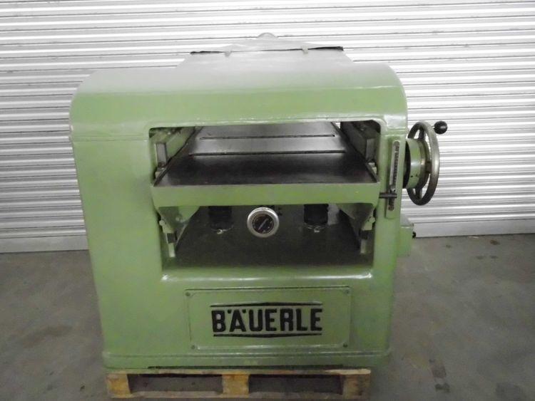 Bauerle DH 63  Thicknessing machine