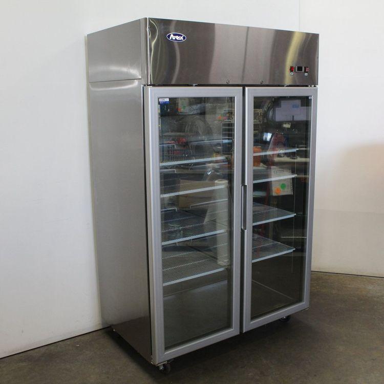 Atosa MCF8602 2 Door Upright Freezer