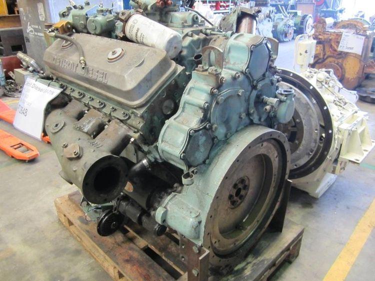 Detroit Diesel 8V-71N Diesel Marine Engine