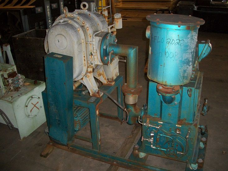 Kinney High Vacuum Equipment System