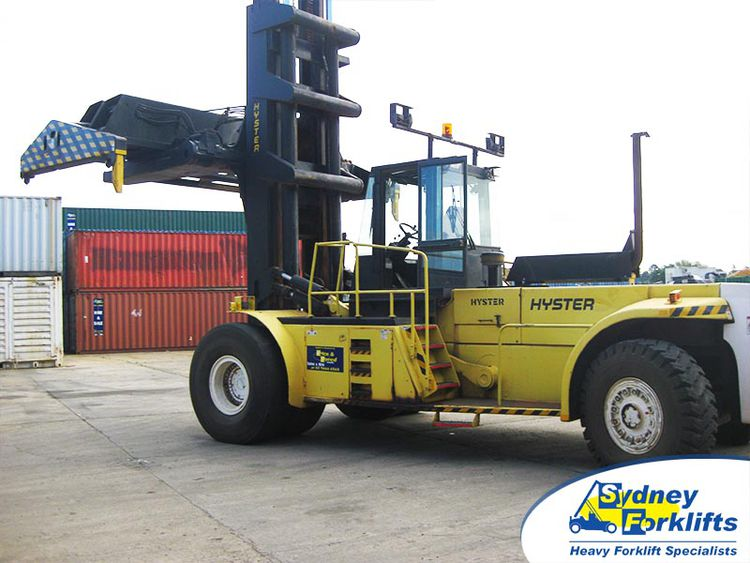 Hyster H35.00F 35,000kg @ 1,200mm