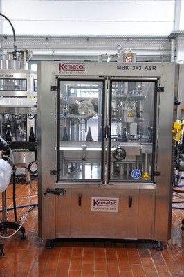 Kematek MBK 3 + 3 ASR  Capsule dispenser, roller, shrinking