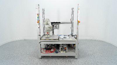 Mitsubishi RV-3SDB-S15, industrial Robot With Enclosure