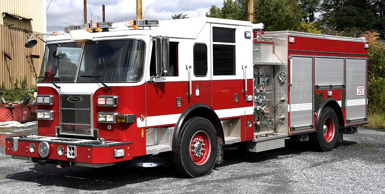 Pierce, Saber 2000/750 Pumper