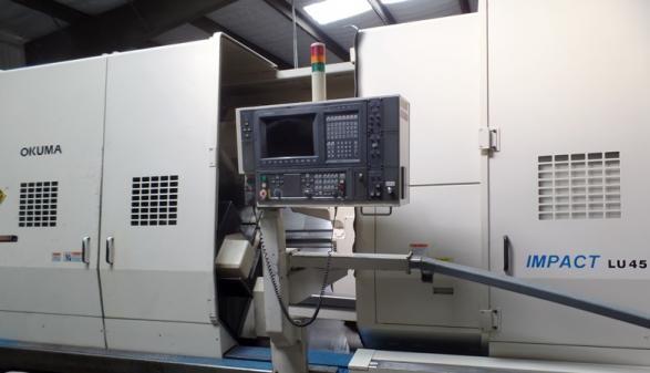Okuma OSP-U100L 900 rpm LU45 3 Axis