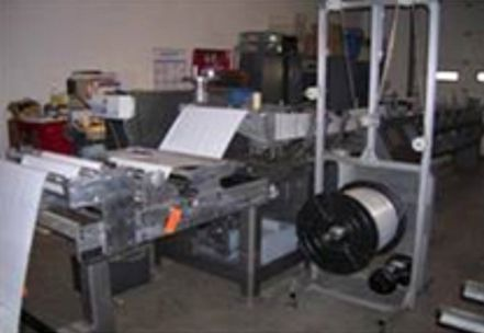 Bartelt 9-14, horizontal form fill and seal machine
