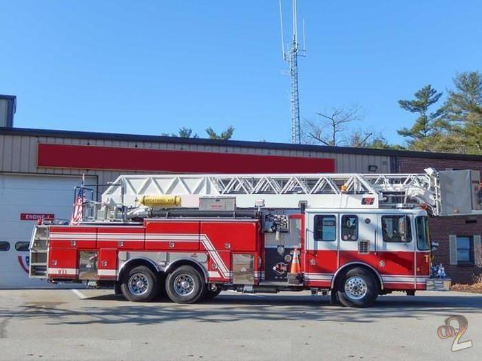 Ferrara, HME Aerial Fire Truck