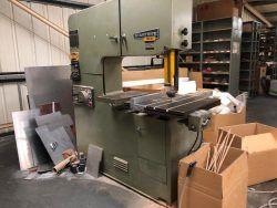 Startrite 316H Vertical Bandsaw Semi Automatic
