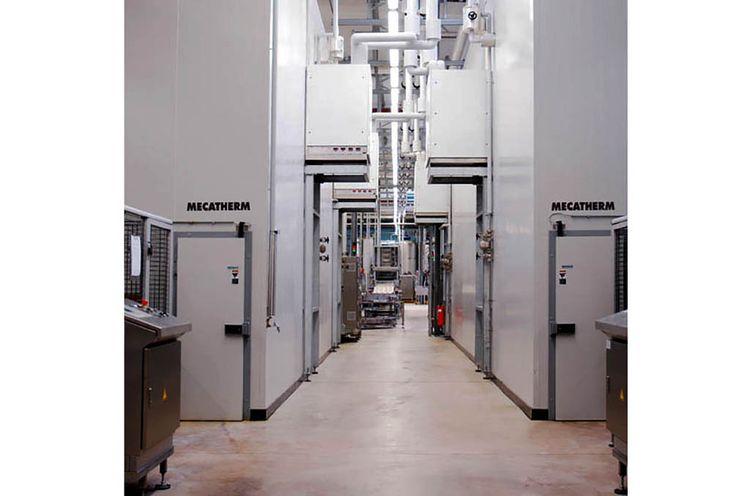 Mecatherm baguette line 358 trays per hour