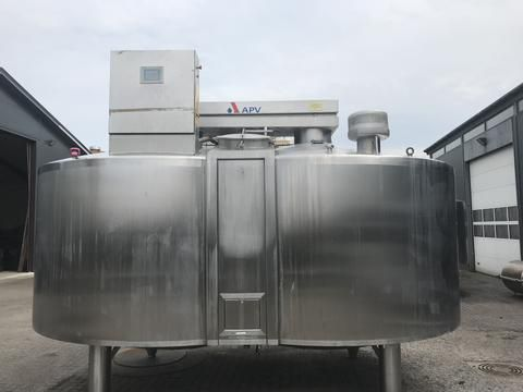 3 APV Double-O Cheese Vat