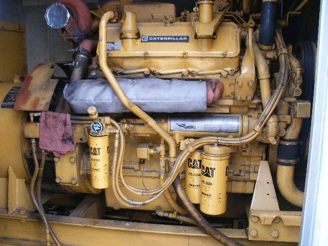 Caterpillar 3408 Used Industrial Generator set 400