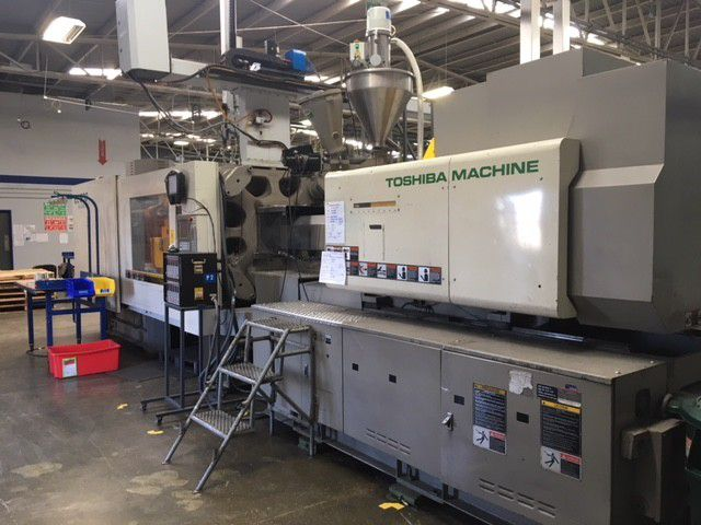 Toshiba Electric Injection Molding Machine 500 Ton