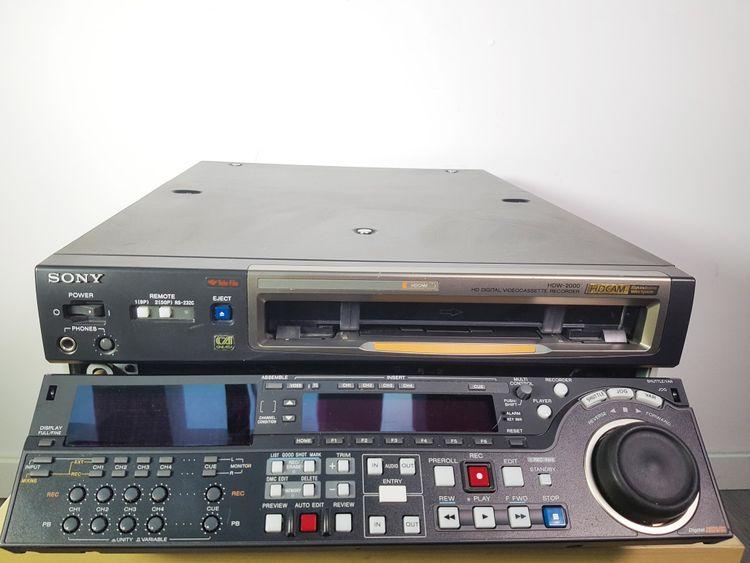 Sony HDW-2000 HDCAM Cine Alta Recorder