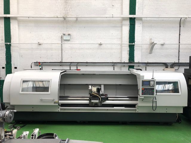 CNC Lathe with Fanuc 0i-TD Control. Variable MASCUT AC-25160 2 Axis