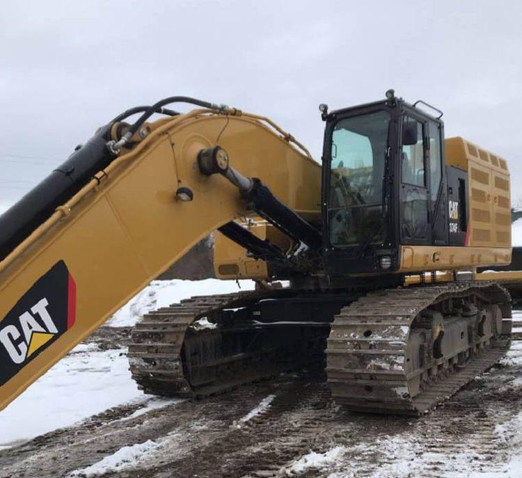 Caterpillar 374F L Excavator