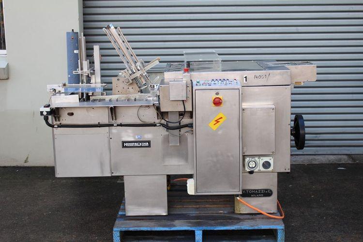 Tonazzi Minipackina Cartoning Machine