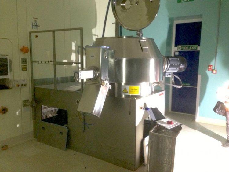 Aeromatic PMA 800  high speed mixer and granulator