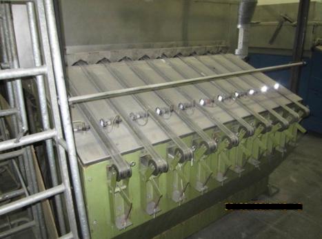 Superba Spirovap WPF-0, Shrinking machine