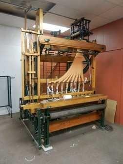 August Bleckman Label shuttle loom