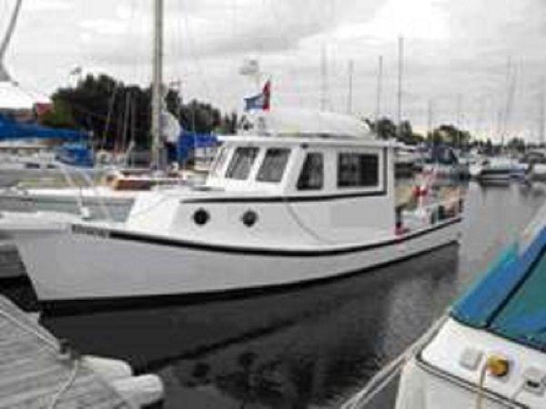 Lobster Boat Style Trawler